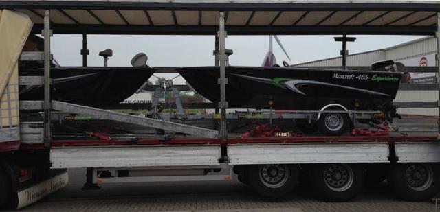 Twee boten voor Frankrijk klaar voor vertrek