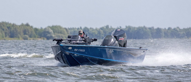 Mit dem schnellen Lund 2075 Pro V Bass sind Sie schnell an den Hot Spots.